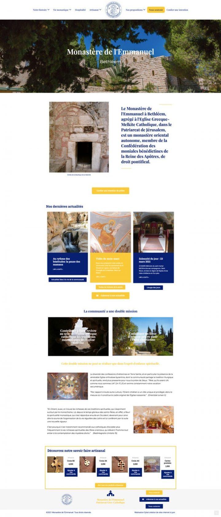 home page emmanuelmonastery